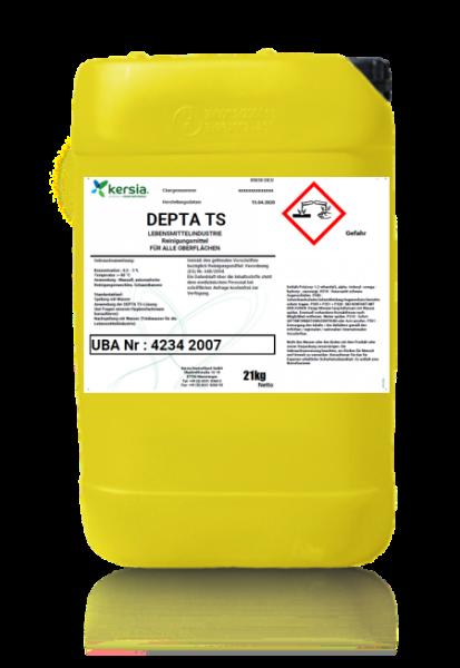 DEPTA TS nicht schäumendes, entfettendes, kesselsteinlösendes, dispergierendes Reinigungsmittel