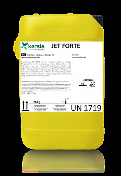 Jet Forte Gläser und Geschirrreiniger phosphat- und chlorfrei für gewerbl. Spülmaschine