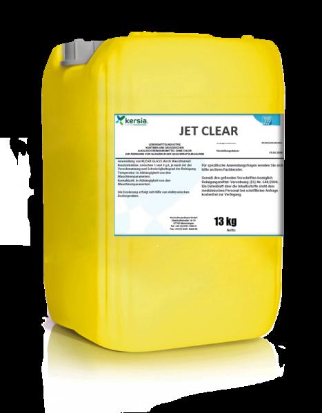 Gläserreiniger JET CLEAR ein chlorfreier Reiniger für gewerbliche Gläserspülmaschinen